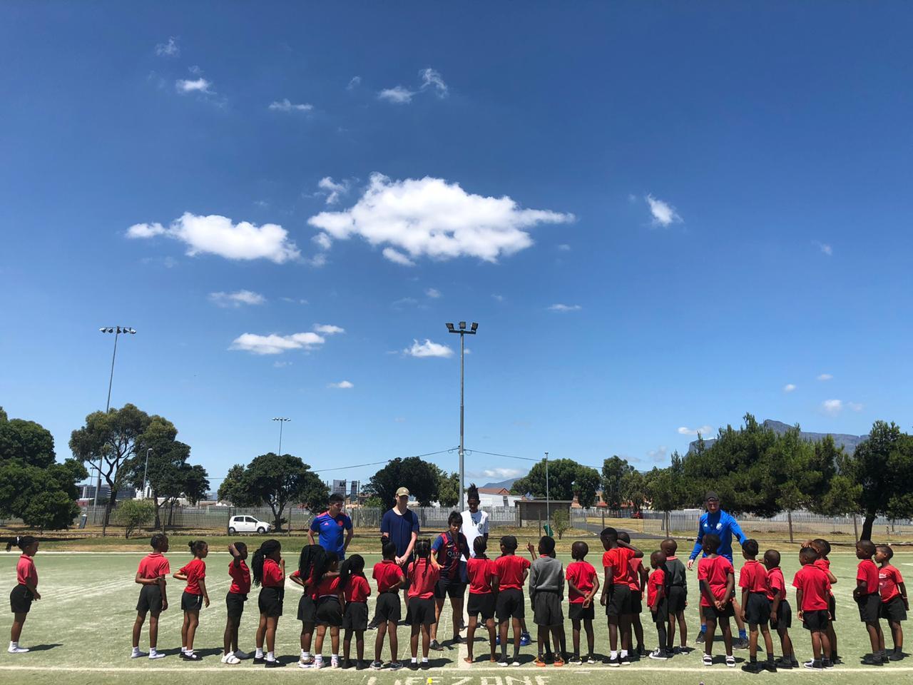 Read more about the article Volunteering – Fußballtraining unter der südafrikanischen Sonne
